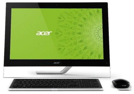 Моноблок ACER Aspire 7600U, Intel Core i7 3630QM, 8Гб, 1000Гб, 32Гб SSD,  nVIDIA GeForce GT640M - 2048 Мб, Blu-Ray, Windows 8, черный [dq.sl6er.009 ]