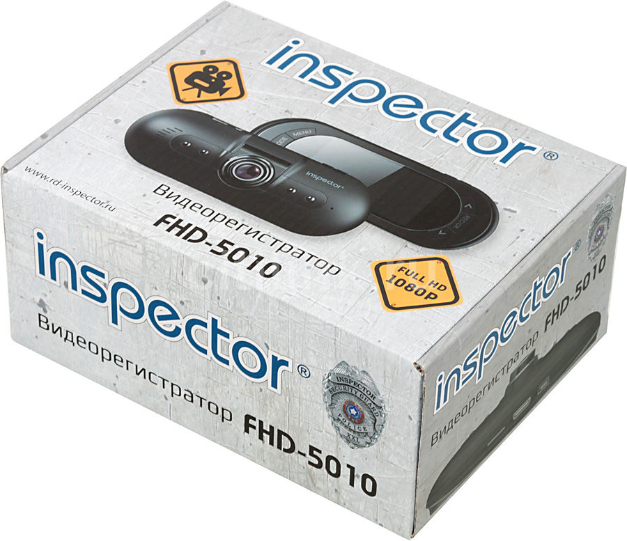Видеорегистратор инспектор fhd 5010