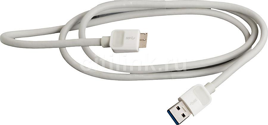 Кабель USB3.0 BELKIN F2CU009YW1M-APL,  USB A (m) -  micro USB B (m),  1м