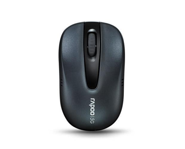 Мышь RAPOO 1070P оптическая беспроводная USB, серый [11958]