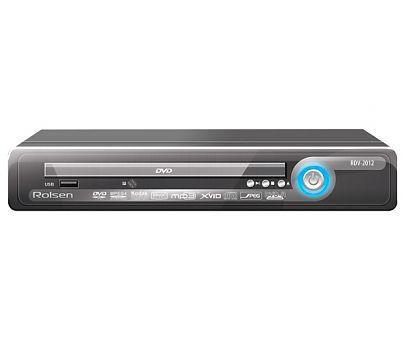 DVD-плеер ROLSEN RDV-2012,  черный