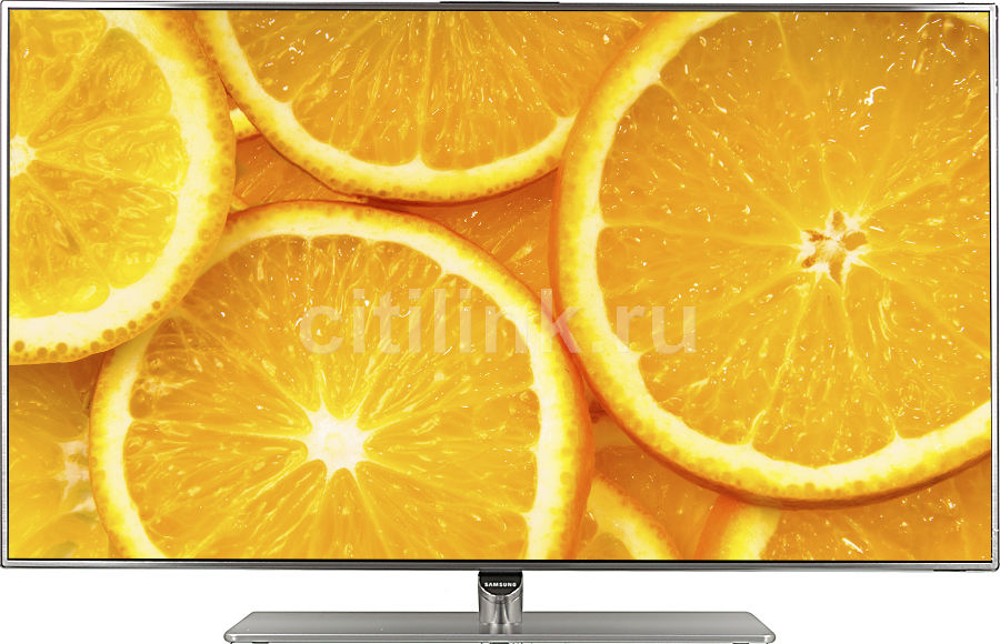 "LED телевизор SAMSUNG UE40F7000AT  ""R"", 40"", 3D,  FULL HD (1080p),  серебристый"