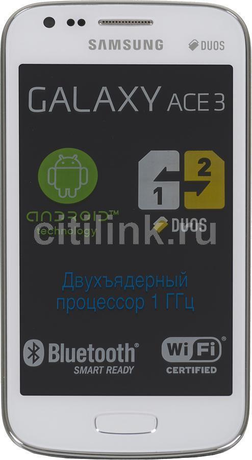 Смартфон SAMSUNG Galaxy Ace 3 GT-S7272  белый