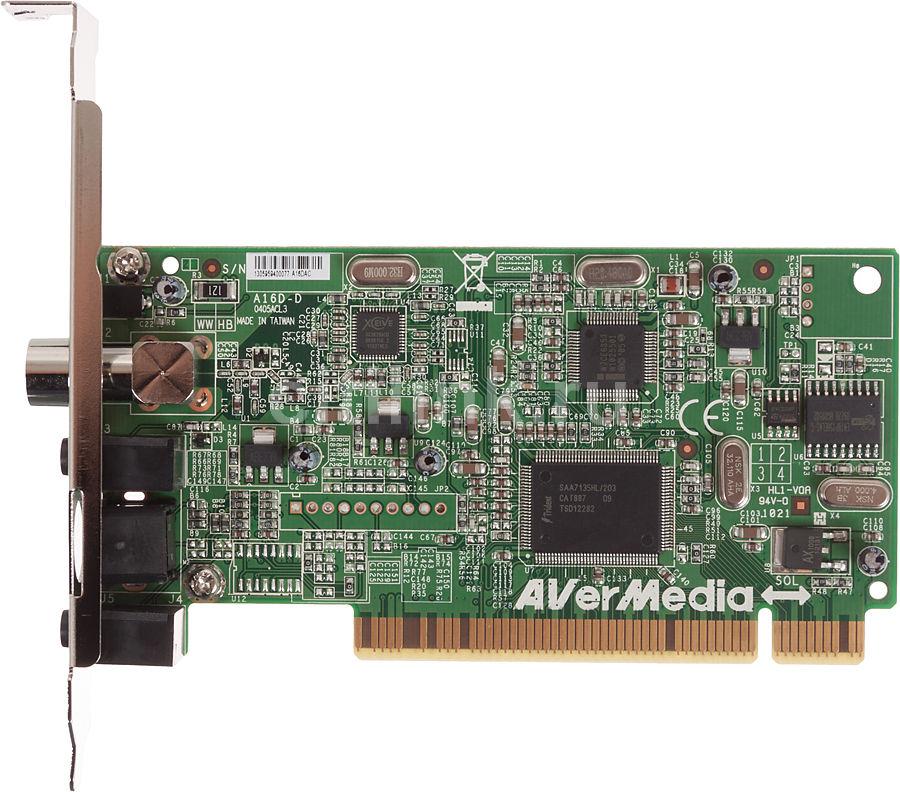 ТВ-тюнер/FM-тюнер AVERMEDIA AVerTV Hybrid+FM PCI,  внутренний