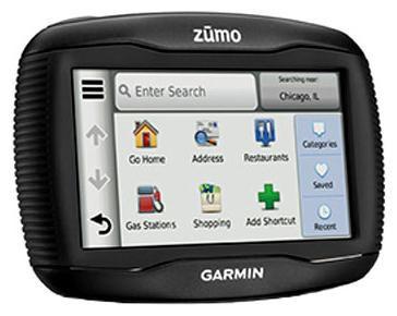 GPS навигатор GARMIN Zumo 350,  4.3