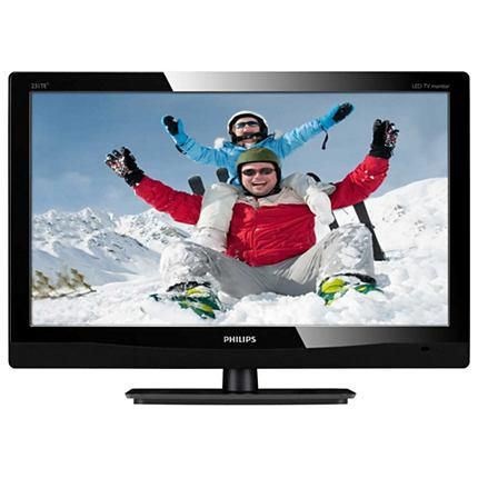 "Монитор ЖК PHILIPS 231TE4LB1 (00/01) 23"", черный"