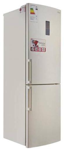 Холодильник LG GA-B429YEQA,  двухкамерный,  бежевый