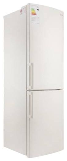 Холодильник LG GA-B439YECA,  двухкамерный,  бежевый