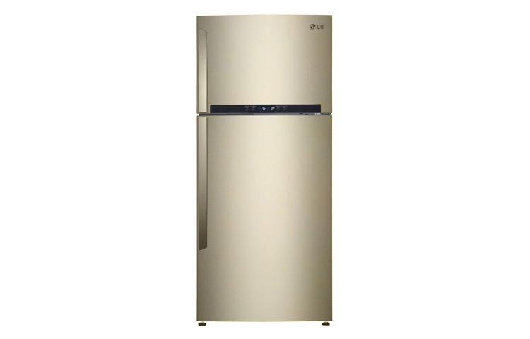 Холодильник LG GN-M702GEHW,  двухкамерный,  бежевый