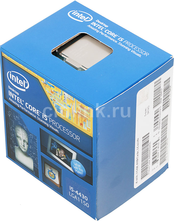 Процессор INTEL Core i5 4430, LGA 1150 BOX [bx80646i54430 s r14g]