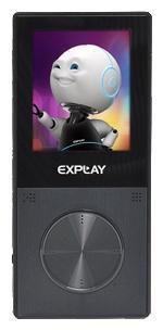 MP3 плеер EXPLAY C41 flash 8Гб черный [4025434]