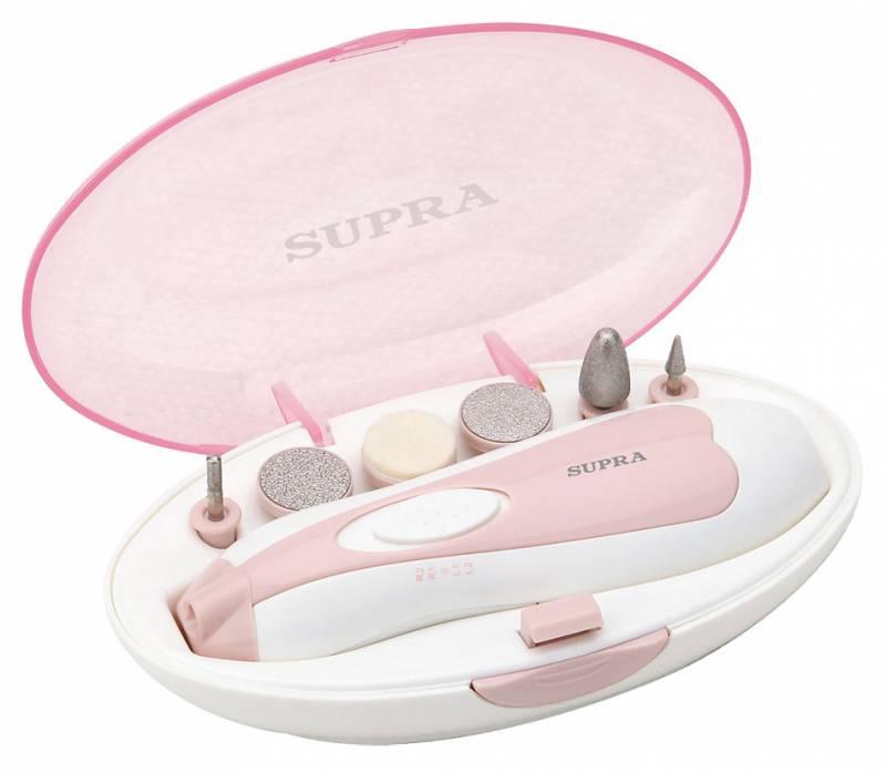Маникюрно-педикюрный набор SUPRA MPS-102,  розовый
