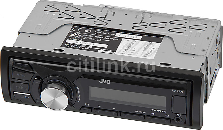 Автомагнитола JVC KD-X200EE,  USB
