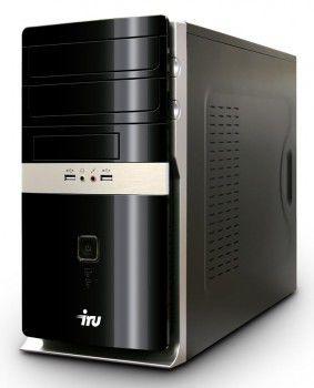 Компьютер  IRU Corp 310,  Intel  Celeron  G1610,  2Гб, 250Гб,  DVD-RW,  Windows 7 Professional