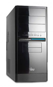 Компьютер  IRU Corp 320,  AMD  A4  5300,  DDR3 4Гб, 500Гб,  AMD Radeon HD 7480D,  DVD-RW,  noOS,  черный
