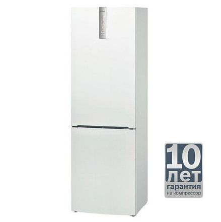 Холодильник BOSCH KGN36VW10R,  двухкамерный,  белый