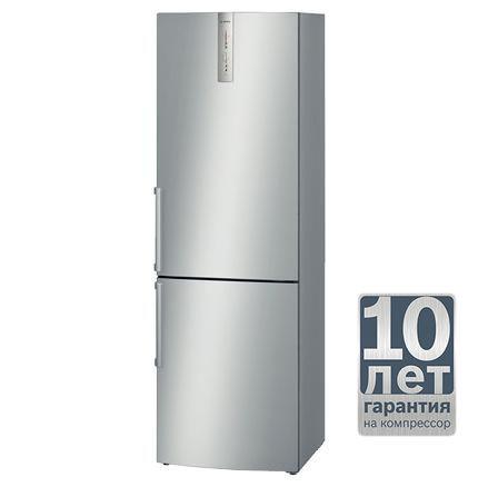 Холодильник BOSCH KGN36XL20R,  двухкамерный,  серебристый