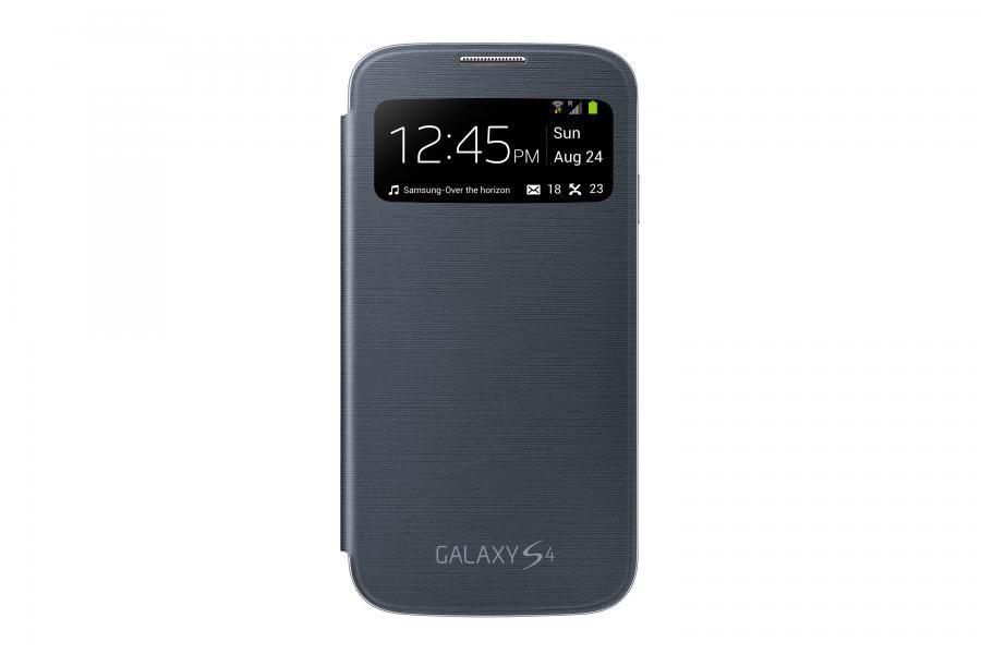 Чехол (флип-кейс) SAMSUNG EF-CI950BBE, для Samsung Galaxy S4, черный [ef-ci950bbegru]