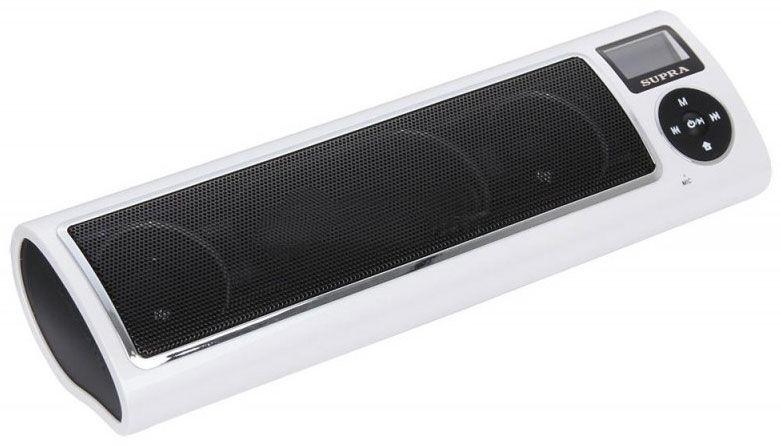 Аудиомагнитола SUPRA PAS-6255,  белый