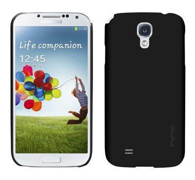 Чехол (клип-кейс) IMYMEE Pastel (S4C51212-BK), для Samsung Galaxy S4, черный