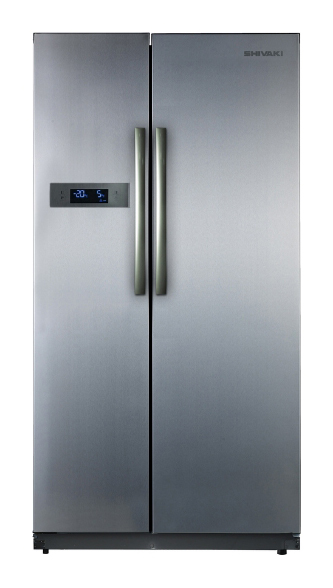 Холодильник SHIVAKI SHRF-620SDM-I,  двухкамерный,  серебристый