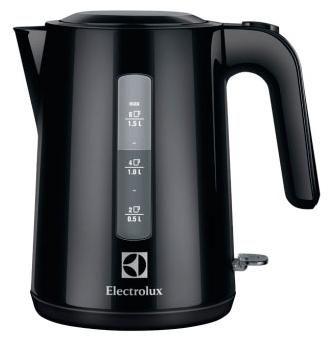 Чайник электрический ELECTROLUX EEWA3200, 2200Вт, черный