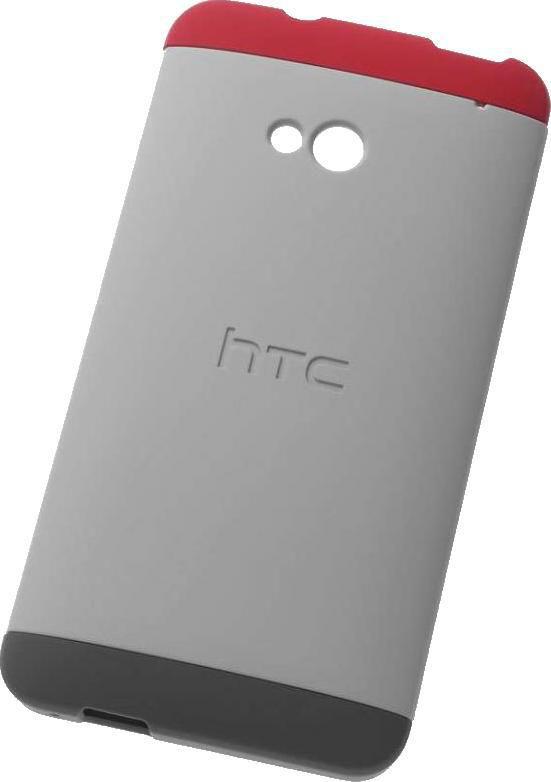 Чехол (клип-кейс) HTC HC C840, для HTC One, серый