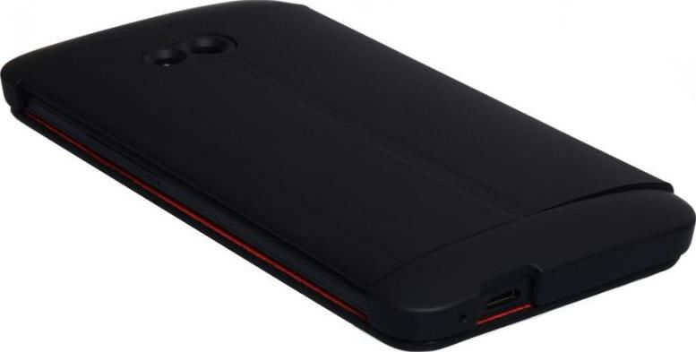 Чехол (флип-кейс) HTC HC V841, для HTC One, черный