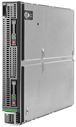 Сервер HP BL660c Gen8 E5-4650 4P 128GB Svr (679114-B21)