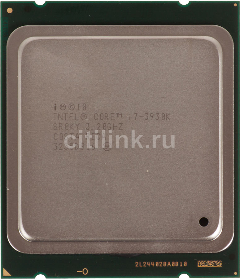 Процессор INTEL Core i7 3930K, LGA 2011 OEM [cpu int s2011 i7-3930k oem]