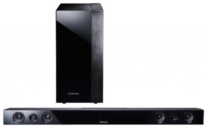 Звуковая панель SAMSUNG HW-F450,  черный [hw-f450/ru]