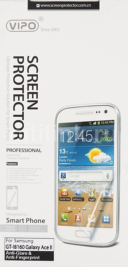 Защитная пленка VIPO для Samsung Galaxy Ace II,  матовая, 1 шт