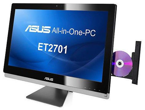 Моноблок ASUS ET2701INKI-B033K, Intel Core i5, 6Гб, 2Тб, nVIDIA GeForce GT630 - 2048 Мб, DVD-RW, Windows 8 [90pt00d1002250q]