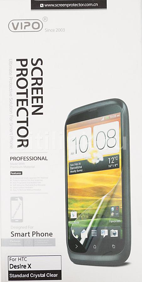 Защитная пленка VIPO для HTC Desire X,  прозрачная, 1 шт