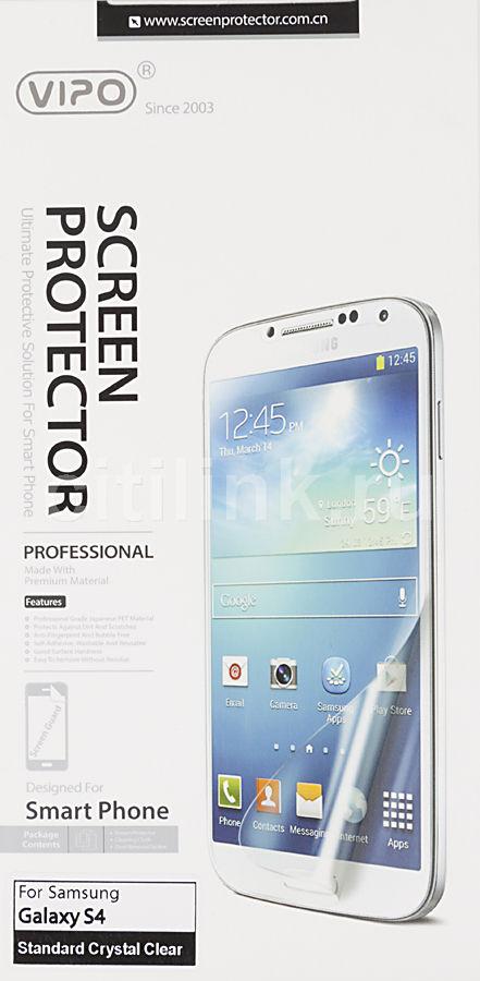 Защитная пленка VIPO для Samsung Galaxy S4,  прозрачная, 1 шт