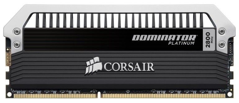 Модуль памяти CORSAIR DOMINATOR PLATINUM CMD16GX3M4A2800C12 DDR3 -  4x 4Гб 2800, DIMM,  Ret