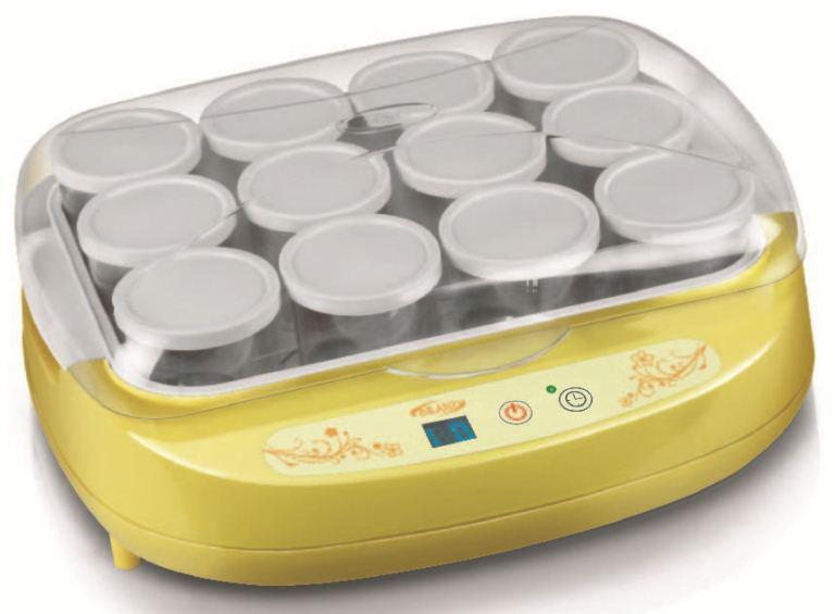Йогуртница BRAND 4002 желтый
