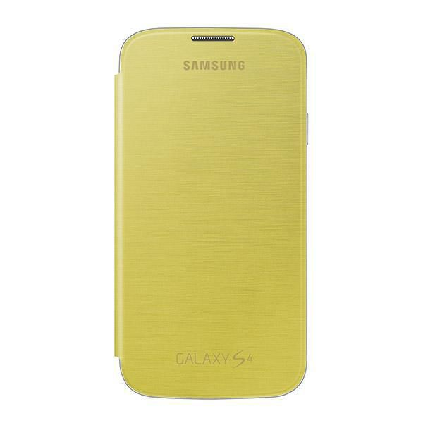 Чехол (флип-кейс) SAMSUNG EF-FI950BYE, для Samsung Galaxy S4, желтый [ef-fi950byegru]
