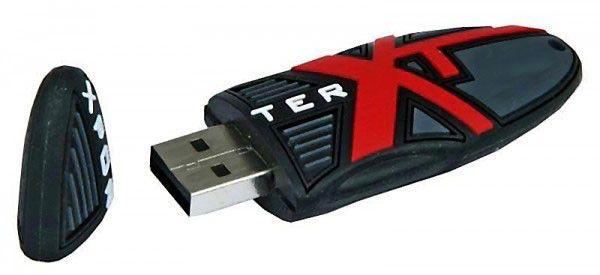 Флешка USB PATRIOT X-Porter XT 8Гб, USB2.0, черный