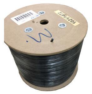 Кабель сетевой  FTP, cat.5E, 305м, 4 пары, 0.50мм,  CCA,  одножильный (solid),  черный