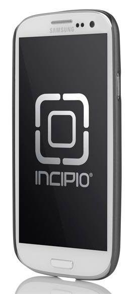 Чехол (клип-кейс) INCIPIO Feather (SA-299), для Samsung Galaxy S III, серый