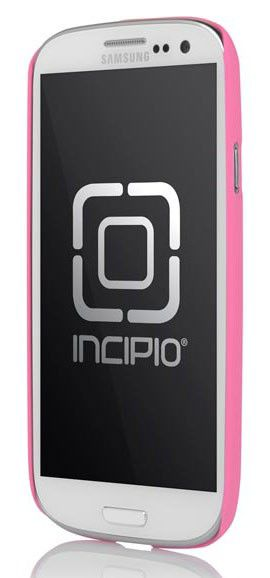 Чехол (клип-кейс) INCIPIO Feather (SA-297), для Samsung Galaxy S III, розовый
