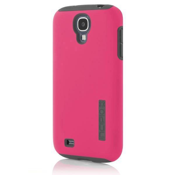 Чехол (клип-кейс) INCIPIO DualPro (SA-376), для Samsung Galaxy S4, розовый
