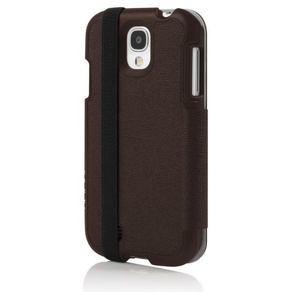 Чехол (флип-кейс) INCIPIO Watson Wallet (SA-395), для Samsung Galaxy S4, коричневый