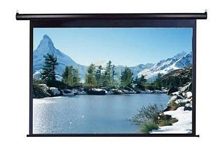 Экран ELITE SCREENS Manual M106UWH,  234.7х132.1 см, 16:9,  настенно-потолочный черный