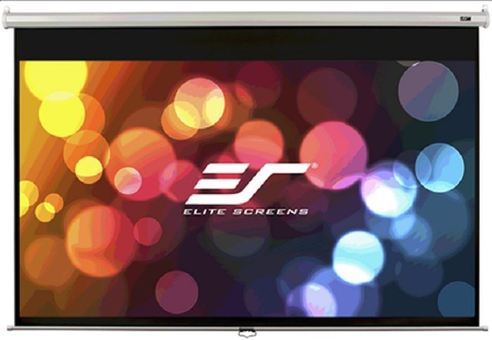 Экран ELITE SCREENS Manual M120UWH2,  265.7х149.4 см, 16:9,  настенно-потолочный черный [m120uwh2 ]