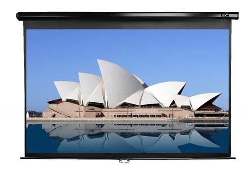 Экран ELITE SCREENS Manual M150UWH2,  332х186.7 см, 16:9,  настенно-потолочный черный