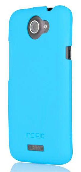 Чехол (клип-кейс) INCIPIO Feather (HT-281), для HTC One X, голубой
