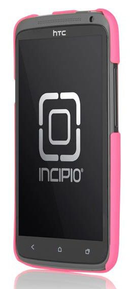 Чехол (клип-кейс) INCIPIO Feather (HT-280), для HTC One X, розовый