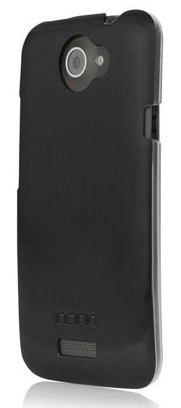 Чехол (клип-кейс) INCIPIO Feather Shine (HT-301), для HTC One X, черный